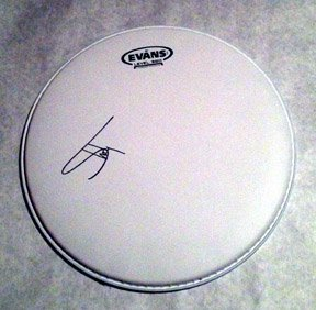 EMINEM  signed  AUTOGRAPHED  new  DRUMHEAD