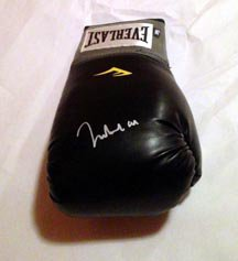 MUHAMMED ALI  signed  AUTOGRAPHED  full size  BOXING GLOVE  * proof
