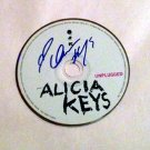 ALICIA KEYS  signed  AUTOGRAPHED Mtv Unplugged  Cd