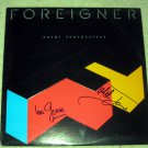 FOREIGNER  autographed   SIGNED  #1    RECORD     album     * Proof