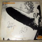 LED ZEPPELIN    w/ john      autographed   SIGNED  #1   RECORD     album     * Proof