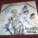 METALLICA     autographed   SIGNED  #1   RECORD     album     * Proof