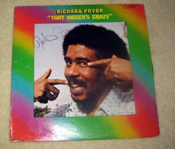 RICHARD PRYOR  autographed   SIGNED  #1   RECORD     album     * Proof