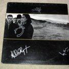 U2     Autographed   SIGNED  #1   RECORD     album     * Proof