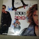 INXS     w/ michael      autographed   SIGNED  #1   RECORD     album     * Proof