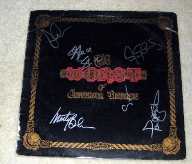 JEFFERSON AIRPLANE     autographed   SIGNED  #1   RECORD     album     * Proof