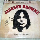 JACKSON BROWNE   autographed   SIGNED  # 1   RECORD     album     * Proof