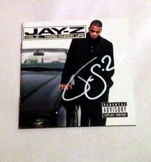 JAY Z Autographed   SIGNED  #1   Cd   Cover      * Proof