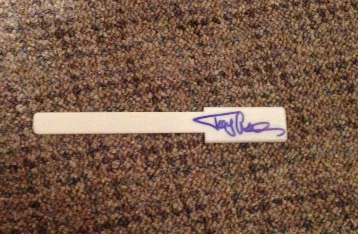 TOMMY LEE  motley crue  AUTOGRAPHED signed  PIANO KEY