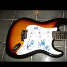 REO SPEEDWAGON  signed  AUTOGRAPHED new  GUITAR