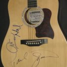 PAUL SIMON & ART GARFUNKEL  signed AUTOGRAPHED full size GUITAR