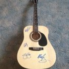 CROSBY STILLS NASH & YOUNG  autographed  SIGNED  Guitar  *proof