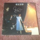 RUSH    w/ NEIL PEART    autographed Signed #1 RECORD vinyl
