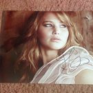 THE HUNGER GAMES  Jennifer Lawrence  autographed signed 8x10 photo