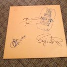 THE WHO autographed SIGNED #1 Record VINYL