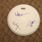 THE TRAVELING WILBURYS  ( Petty Dylan & Lynn ) autographed SIGNED 12 inch   DRUMHEAD