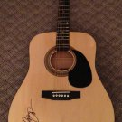 LUKE BRYAN  real   AUTOGRAPHED signed  FULL size GUITAR