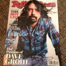 FOO FIGHTERS david grohl AUTOGRAPHED signed MAGAZINE