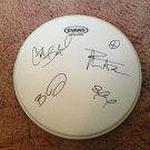 DAVE MATTHEWS BAND signed AUTOGRAPHED 12 inch DRUMHEAD