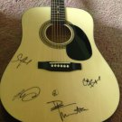 DAVE MATTHEWS BAND  full size  AUTOGRAPHED signed GUITAR