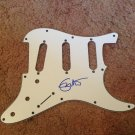 ERIC CLAPTON  signed   AUTOGRAPHED new GUITAR  strat  PICK GUARD