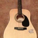 ED SHEERAN  autographed SIGNED full size GUITAR