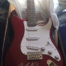 BRUCE SPRINGSTEEN  full size  AUTOGRAPHED signed GUITAR  *proof