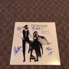 "FLEETWOOD MAC  signed AUTOGRAPHED "" Rumours "" RECORD vinyl"