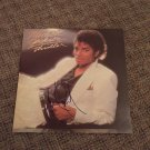 MICHAEL JACKSON signed AUTOGRAPHED #1  RECORD vinyl  THRILLER