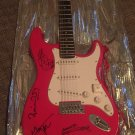 THE ROLLING STONES autographed SIGNED full size GUITAR