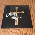 OZZY OSBOURNE Black Sabbath  AUTOGRAPHED signed CD COVER