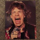 MICK JAGGER  Rolling Stones AUTOGRAPHED signed 8x10 PHOTO