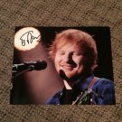 ED SHEERAN signed AUTOGRAPHED 8x10 photo