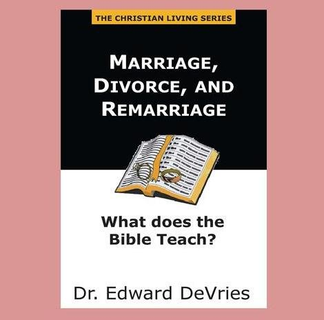 marriage divorce and remarriage How should a christian view marriage and divorce focus on the family's position is that divorce and remarriage appear to be justified in scripture only in a few.