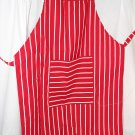 Red French-style Apron