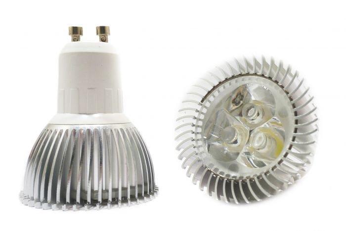 5W GU10-1W3 30� High Power LED Bulb 100~240VAC-MIC2