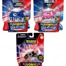 SONIC ALL-STAR RACING VEHICLE & 1.5 INCH FIGURE SET