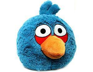 Angry Birds 5 Inch Plush Blue Bird With Sound