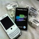 New BlackBerry Torch 9800 White Unlocked ATT Tmobile Vodafofone Fido O2 Movistar