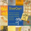 StampCraft Book by Cari Haysom - Creative Ideas for Stamping