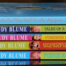 5 book set - Superfudge, Tales of a Fourth Grade Nothing, Fudge-a-Mania Judy Blume