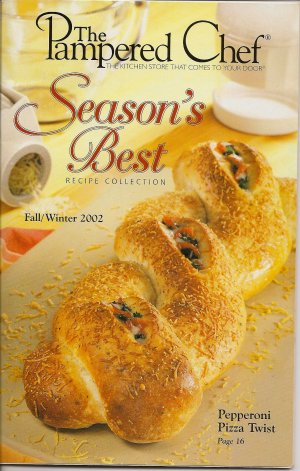 Pampered Chef Season's Best Recipe Collection Fall/Winter 2002