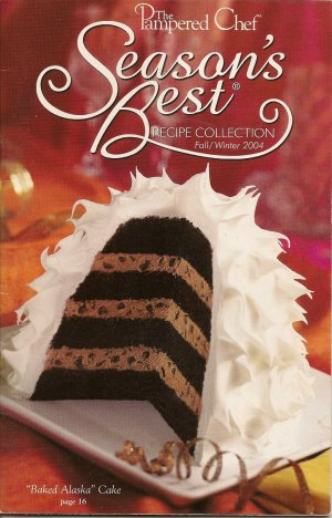The Pampered Chef Season's Best Recipe Collection Fall/Winter 2004