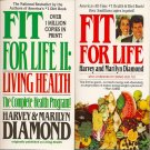Fit For Life & Fit for Life II Book by Harvey & Marilyn Diamond