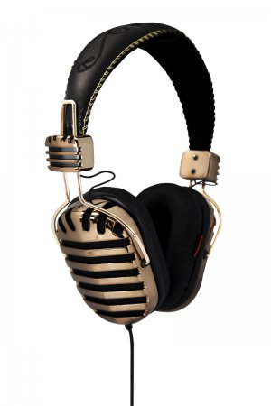 i-mego Throne Series headphone GOLDEN