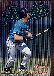 1997 Bowman Chrome #ROY8 Mark Kotsay