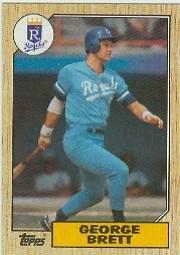 1987 Topps #400 George Brett