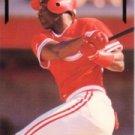 1991 Leaf Gold Rookies #BC10 Reggie Sanders