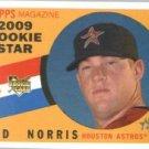 2009 Topps Heritage #519 Bud Norris