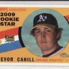 2009 Topps Heritage #711 Trevor Cahill